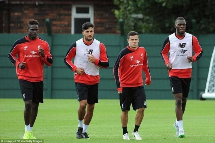 Hai tân binh đắt giá có buổi tập đầu tiên cùng Liverpool