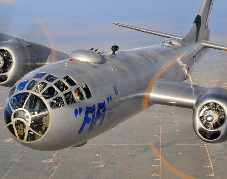 Phi cơ còn lại của mẫu máy bay thả bom nguyên tử Nhật Bản