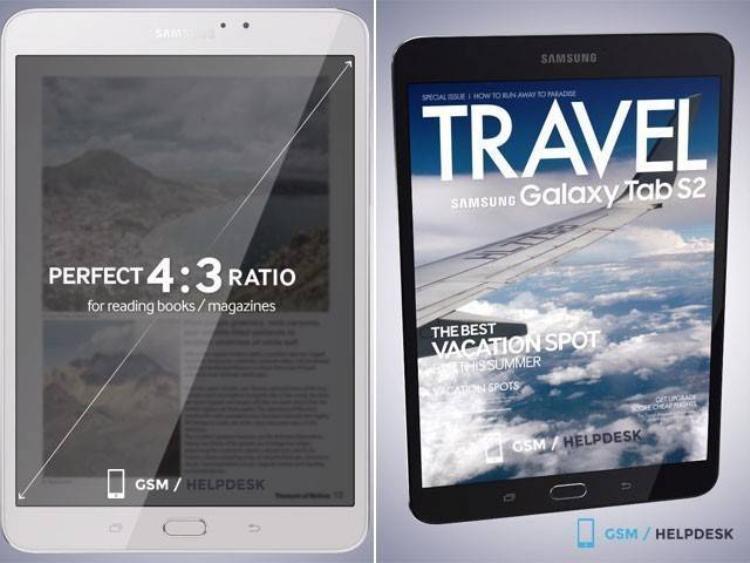 Samsung Galaxy Tab S2 8.0 và 9.7 ra mắt tuần tới