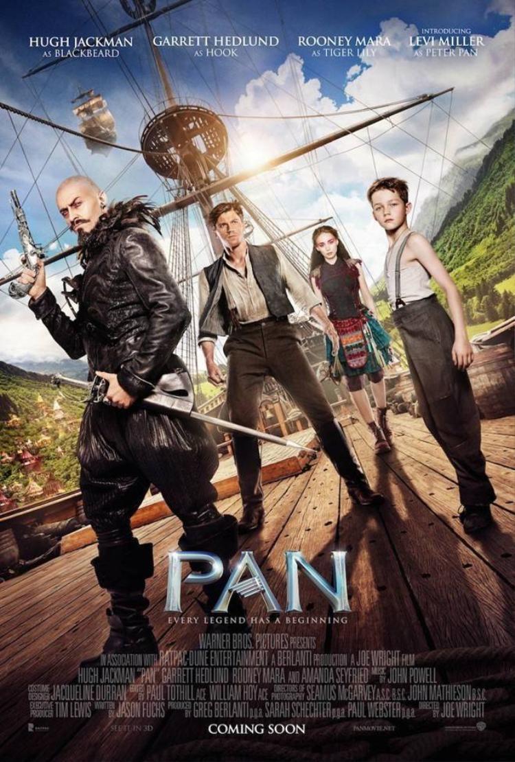 Hang Én xuất hiện trong trailer mới của Pan