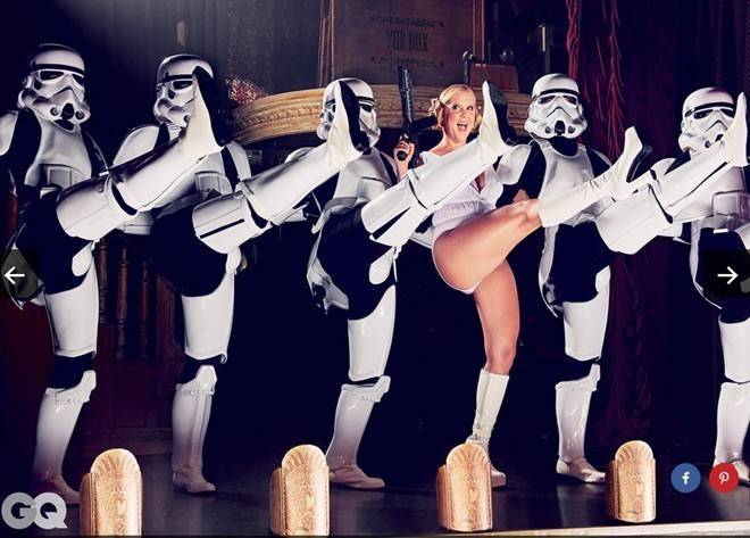 Disney phủ nhận liên quan tới bộ ảnh nóng 'Star Wars'
