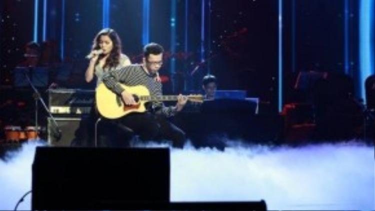 """Ngọc Anh và Hải Âuđược xem là """"cặp đôi hoàn hảo"""" khi liên tiếp hợp tác ăn ý trong nhiều sản phẩm âm nhạc."""