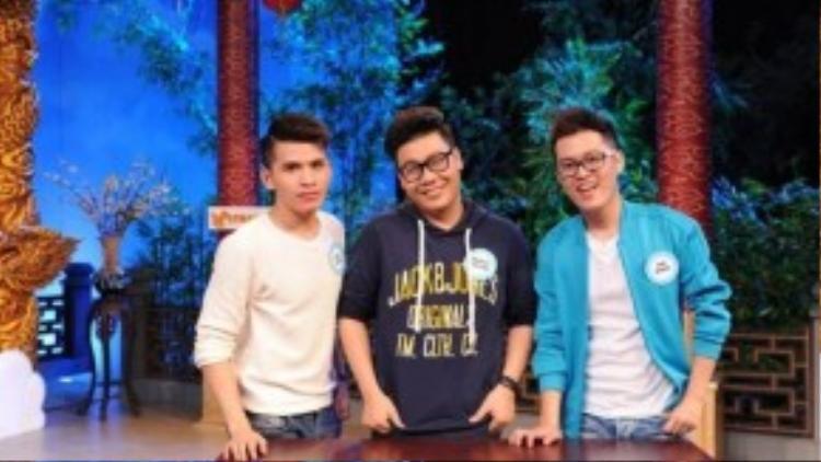 Đội chơi Quốc Thiên, Hamlet Trương và Anh Khang.