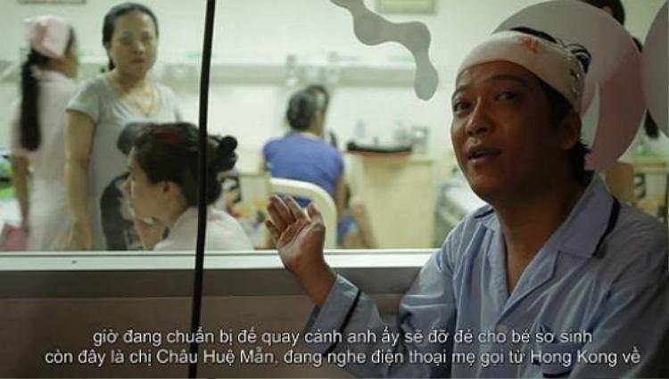 Trường Giang quậy tưng trên phim trường '49 ngày'