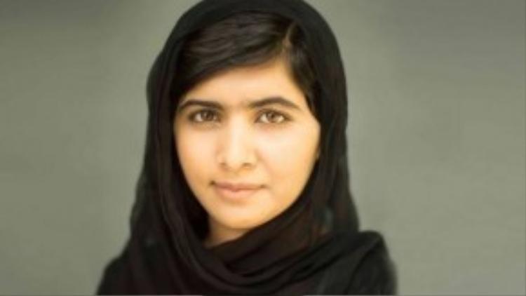 Malala Yousafzai, nhà hoạt động cho quyền giáo dục của nữ giới người Pakistan, người nhận giải Nobel trẻ nhất đến hiện giờ.