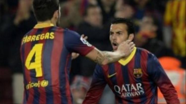 Pedro sẽ lại song hành cùng Cesc trong màu áo Chelsea.