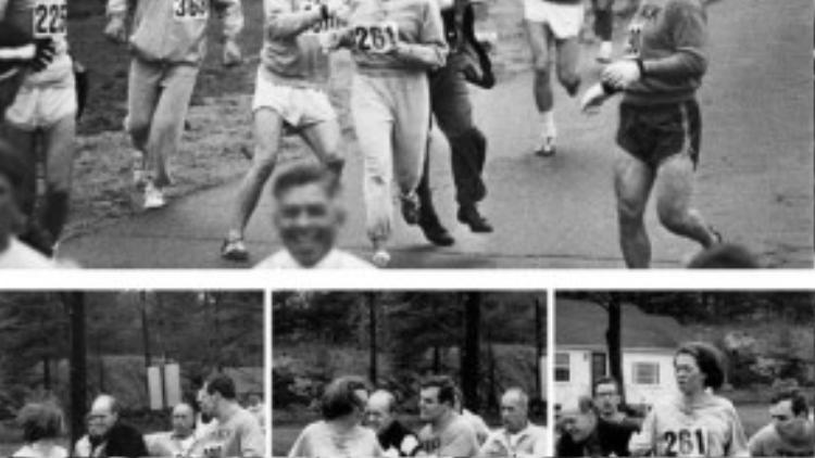 Katherine Switzer là người phụ nữ đầu tiên tham gia trong cuộc chạy marathon ở Boston vào năm 1967. Khi những người thuộc ban tổ chức nhận ra rằng có một phụ nữ đang chạy, họ đã cố bắt cô lại.