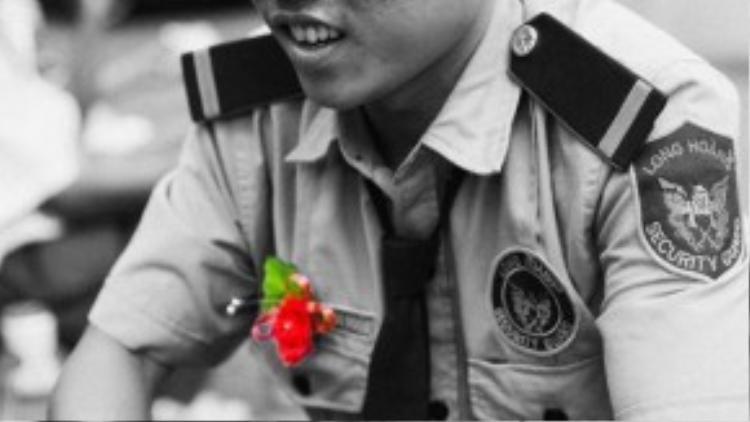 Anh Huỳnh Tuấn Hải, sinh năm 1989, hiện làm bảo vệ cho một công ty.