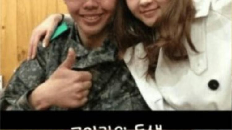 Dung mạo của em trai Go Ara khác biệt so với nữ diễn viên, đặc biệt là đôi mắt và chiếc mũi.
