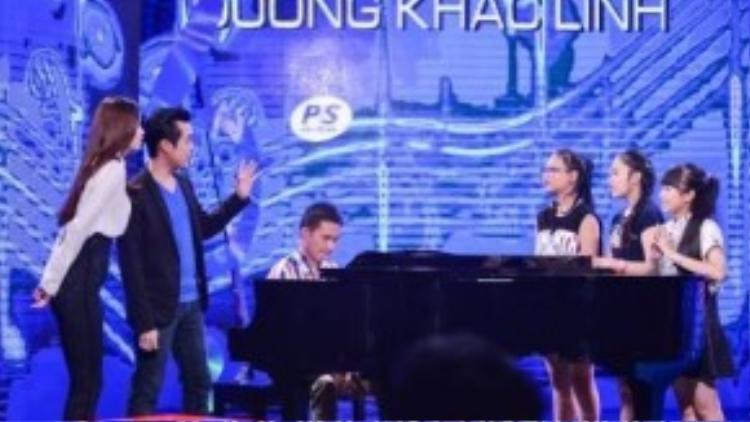 HLV Dương Khắc Linh khiến khán giả tò mò vì những gì anh sẽ mang lại cho đêm Đối đầu sắp tới.