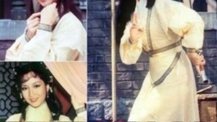 Huỳnnh Hạnh Tú trong vai A Châu năm 1982.