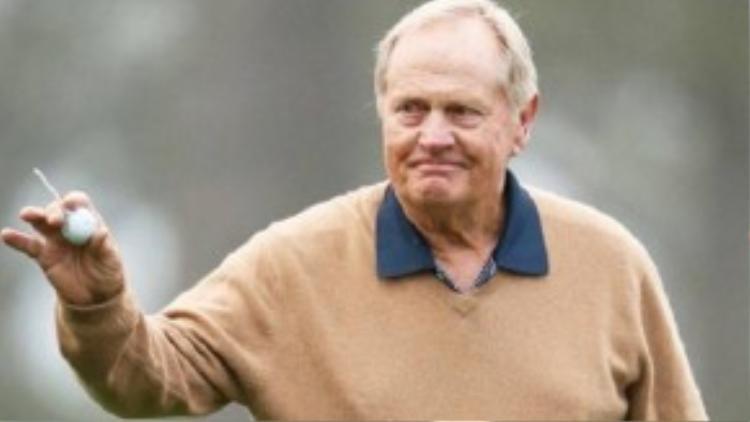 Cựu golf thủ Mỹ Jack Nicklaus xếp thứ 4 với khoảng thu nhập 28 triệu USD.