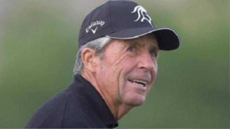 Gary Player - huyền thoại 79 tuổi của làng golf cũng có thu nhập 21 triệu USD.