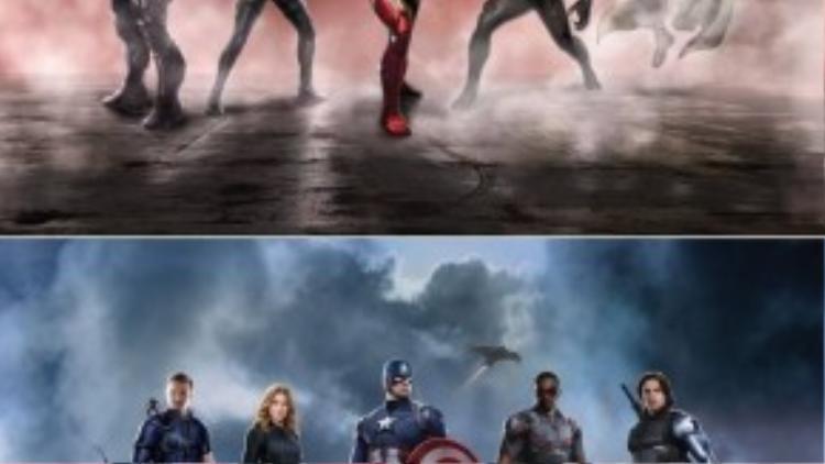 """Phe phái siêu anh hùng trong """"Captain America: Civil War"""" (2016) gần như giống hệt tin đồn xuất hiện hồi đầu tháng 8."""