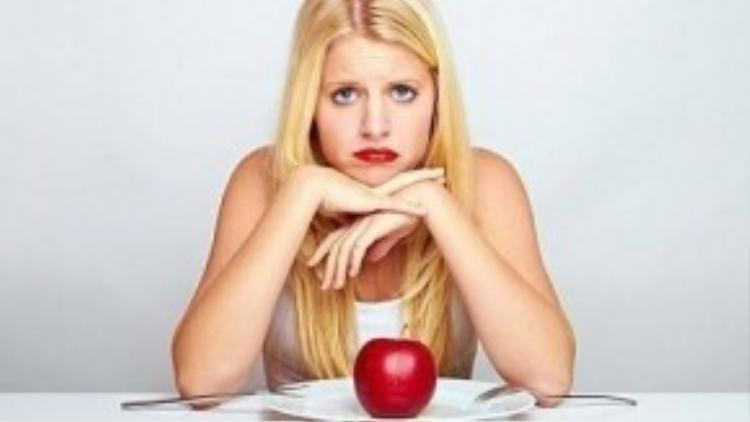 """Bản thân """"diet"""" đã là một loại stress. Bạn nên giữ tinh thần thoải mái trong thời gian giảm cân."""