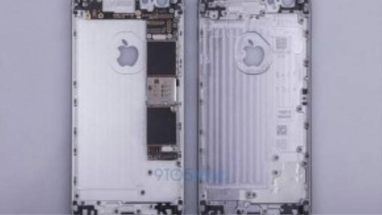 """Hình ảnh """"nội thất"""" của iPhone 6S rò rỉ trên mạng"""