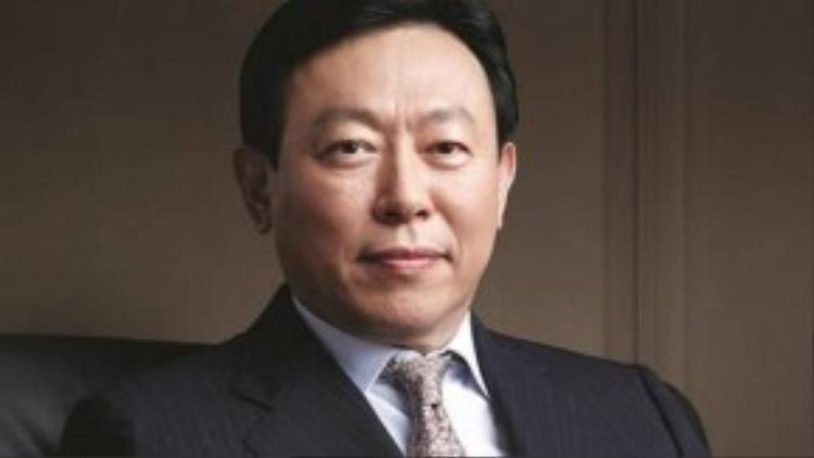 Chủ tịch tập đoàn Lotte của Hàn Quốc Shin Dong-Bin. (Nguồn: forbes.com)