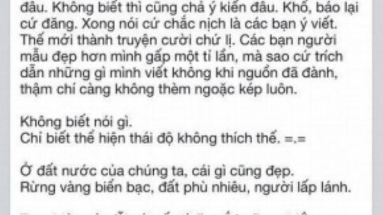 Blogger Gào mắng người trong showbiz Việt và Ngọc Trinh thiếu chất xám.