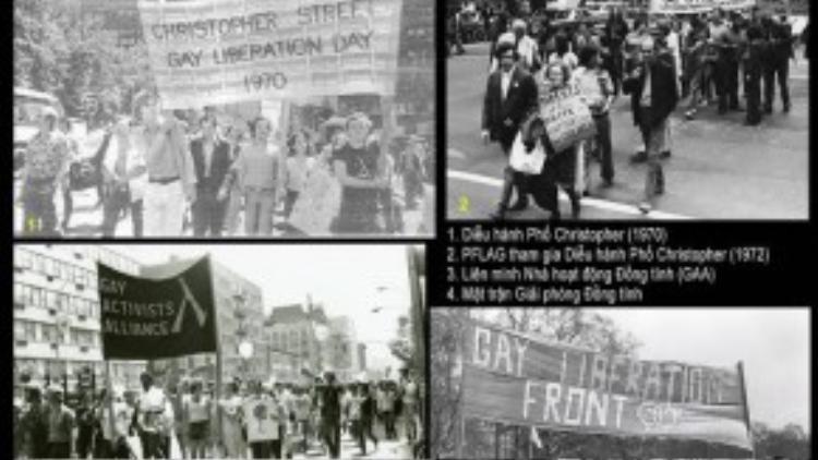 Những cuộc biểu tình liên tục diễn ra ngay sau đó. (Ảnh: 6sac.com)