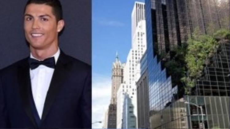 Mua căn hộ siêu sang ở Trump Tower, Ronaldo đã gia nhập vào giới thượng lưu của khu vực này.