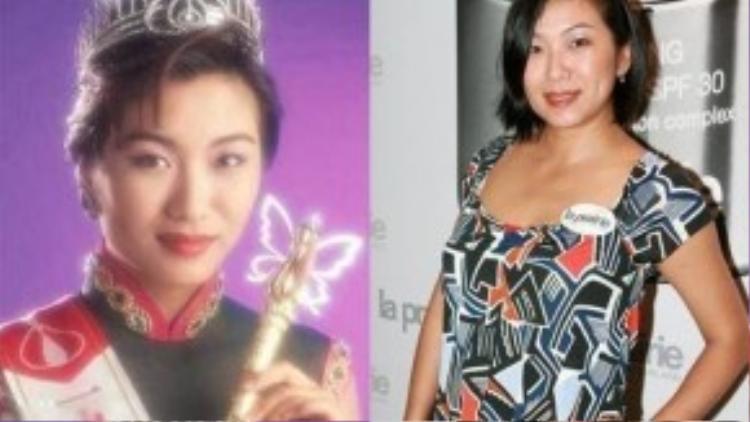 Dù hiện nay Mạc Khả Hân khá tròn trịa, nhưng trước đây cô từng đăng quang Hoa hậu Hong Kong năm 1993.