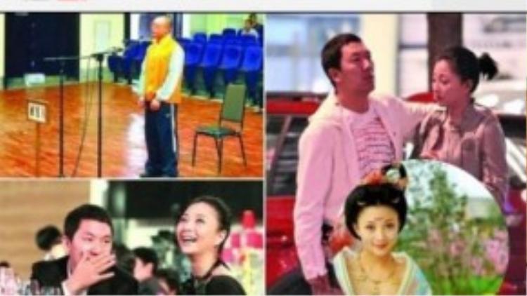 Chồng cũ khai chuyện cưới Ân Đào (ảnh trên bên trái)