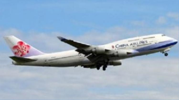 Một máy bay của hãng China Airlines - Ảnh: CAL