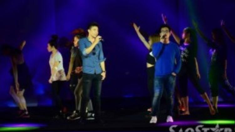 Đông Hùng và Hà Anh Tuấn hứa hẹn mang đến bài hát ý nghĩa khi kết hợp với nhau trong một tiết mục.