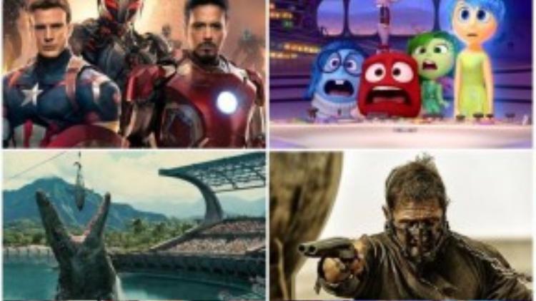 """""""Mad Max: Fury Road"""" và """"Inside Out"""" là một đẳng cấp khác so với các bộ phim cùng thể loại được phát hành trong mùa hè 2015."""