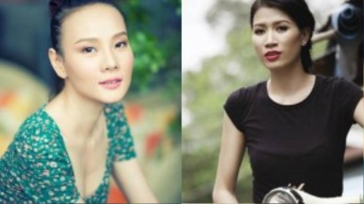 Dương Yến Ngọc và Trang Trần.