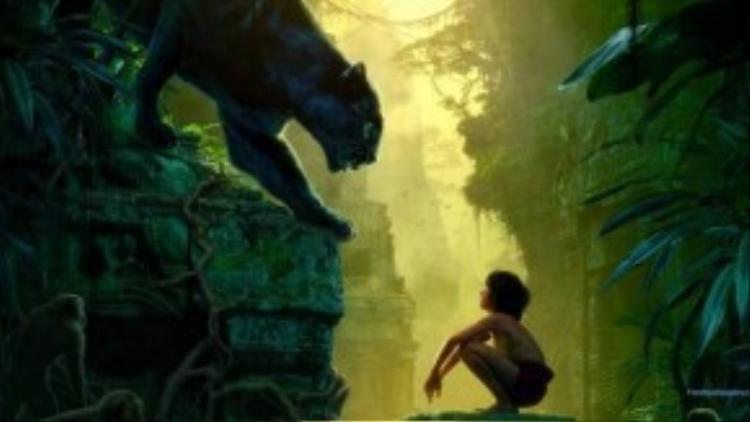 The Jungle Book có dàn diễn viên lồng tiếng rất chất lượng: Scarlett Johansson (Kaa), Christopher Walken (King Louie), Bill Murray (Ballo), Lupita Nyong'o (Rakcha), Ben Kingsley (Bagheera) và đặc biệt Neel Sethi cho vai Mowgle.