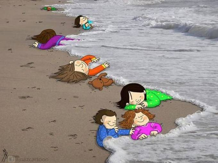 Bức ảnh cậu bé Syria dạt vào bờ biển gây chấn động cộng đồng mạng