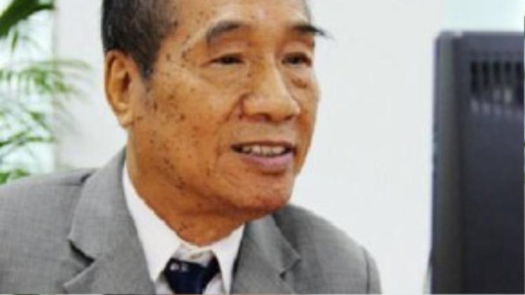 Nhà giáo ưu tú Nguyễn Ngọc Ký. Ảnh: Hà Mai/ VnExpress