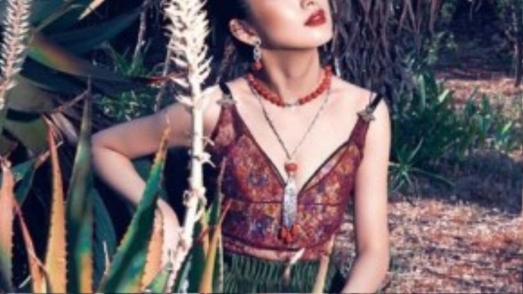 Lâm Y Thần mang đến hình ảnh mới về nét đẹp tâm hồn của người phụ nữ.