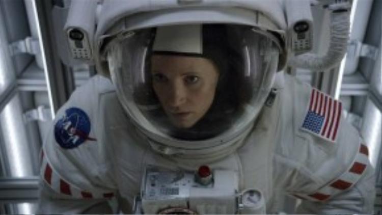Sau khi làm con gái của nhà phi hành gia Cooper trong Interstellar, Jessica Chastain sẽ tự mình bay vào vũ trụ với The Martian.