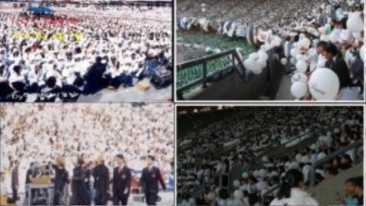 Các đêm nhạc của nhóm đều kín sân vận động. Theo đánh giá, H.O.T là nhóm nhạc đầu tiên của Hàn Quốc sẵn sàng tổ chức concert tại sân vận động quốc gia Seoul Olympic. Fan của H.O.T rất cuồng nhiệt, họ mua sạch vé chỉ trong 1 tiếng.
