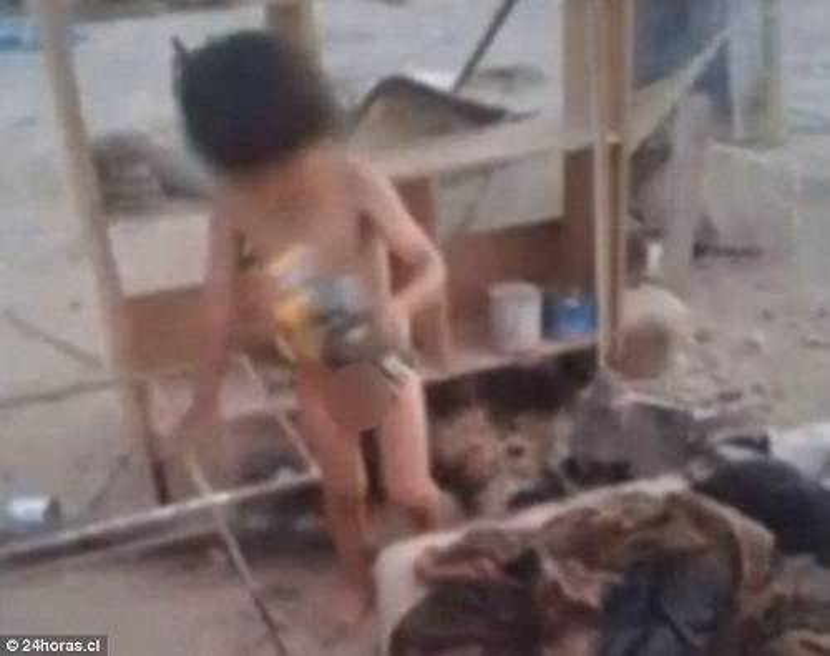 Clip bé trai phải bú sữa chó để sống sốt vì bị mẹ bỏ rơi