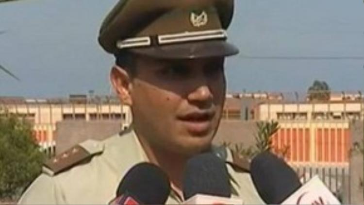 Cảnh sát trưởng Diego Gajardo.