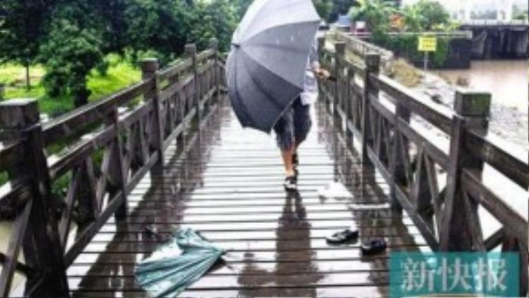 Kim loại trong ô có thể truyền điện từ tia sét