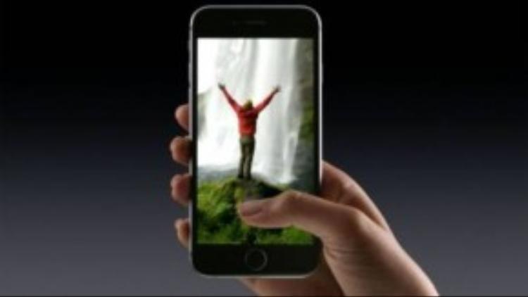 Live Photoi giúp lưu được những khoảnh khắc ấn tượng trước và sau khi chụp ảnh