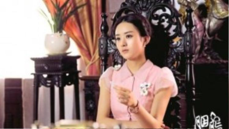 Gương mặt lạnh lùng của Triệu Lệ Dĩnh trong dự án Yên Chi.