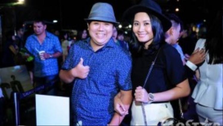 Vợ chồng diễn viên hài Gia Bảo - Thanh Hiền.