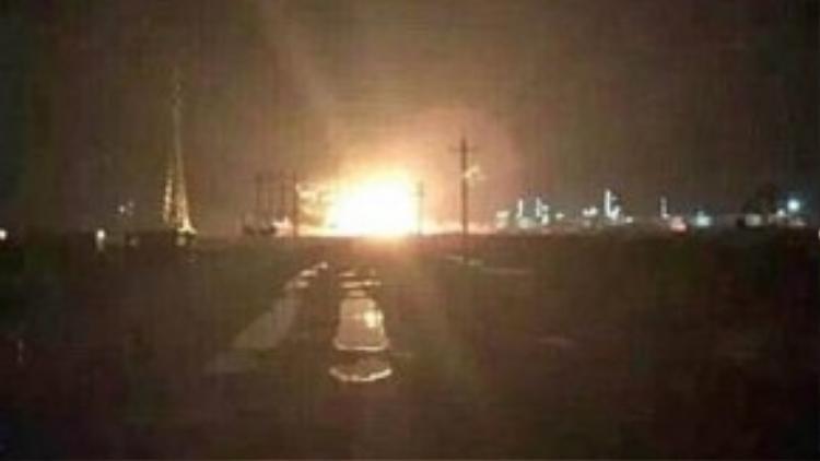 Lại thêm một vụ nổ lớn nhà máy hoá chất ở miền đông Trung Quốc.
