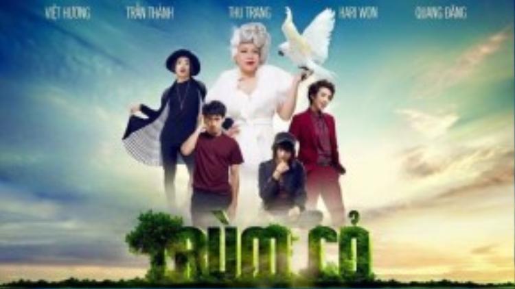 Poster phim thu hút sự chú ý của khán giả nhờ tạo hình khác lạ của các nhân vật.