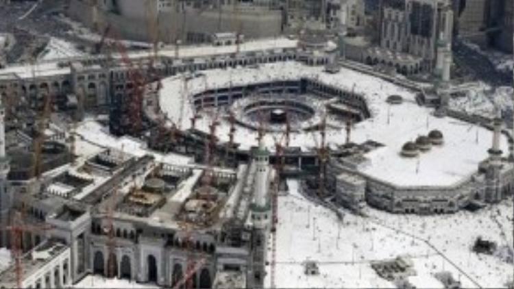 Toàn cảnh Thánh địa Mecca.