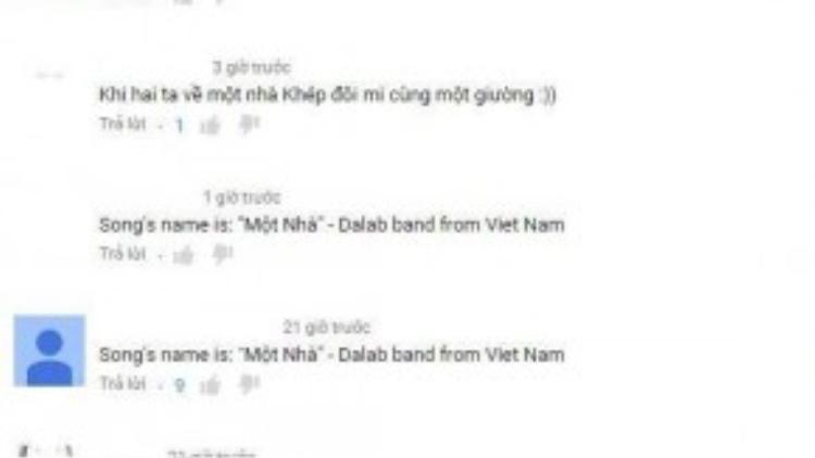 Nhiều cư dân mạng Việt Nam đã phát hiện ra ca khúc quen thuộc.