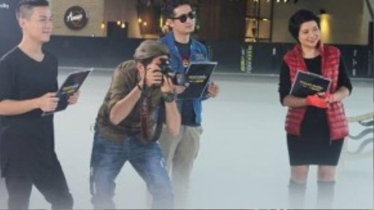 """Có thể thấy, ban giám khảo đã bắt đầu tăng mức độ khó cho các thử thách của thí sinh. Hàng loạt những khó khăn của buổi chụp hình ở chặng hành trình """"nước rút"""" này đã thể hiện sự bản lĩnh và sự trưởng thành vượt bậc của các thí sinh."""