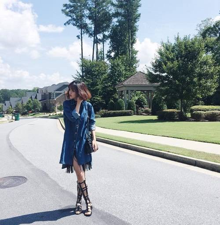 Bích Phương, Lưu Hương Giang đưa mốt váy sơ mi trở lại