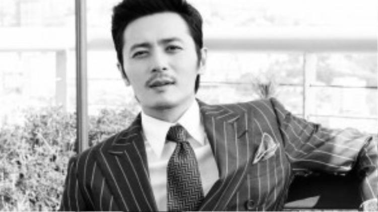 5. Jang Dong Gun - tài tử 43 tuổi.