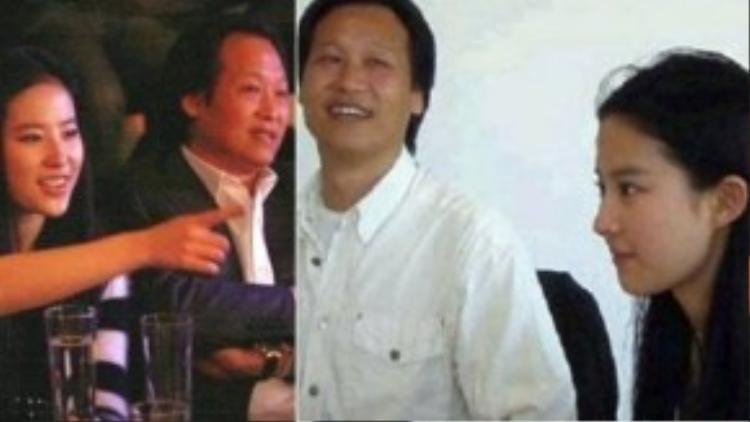 Trần Kim Phi và Lưu Diệc Phi từng như bóng với hình.
